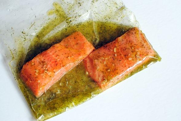 Lemon Dill Salmon Marinade