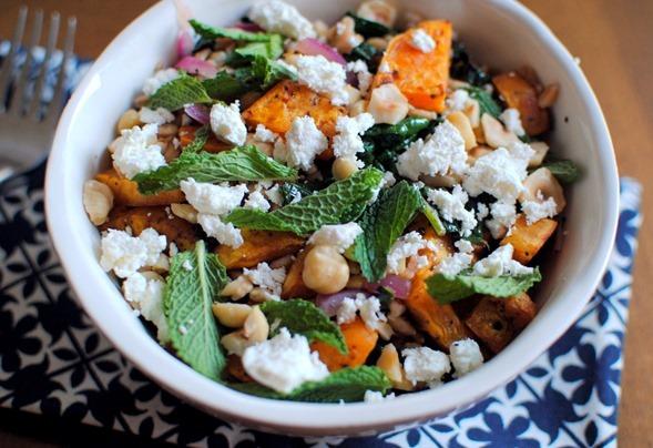 Summery Sweet Potato Salad