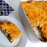 Turkey Sausage and Kale Breakfast Casserole