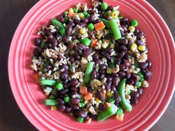 Veggie Black Bean Bowl