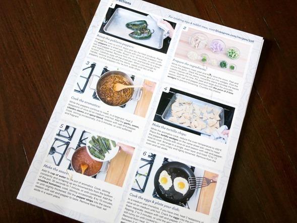 blue apron recipe