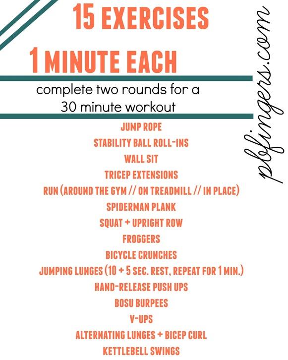 24 Week Prenatal Appointment + 30 Minute Workout   Peanut ...