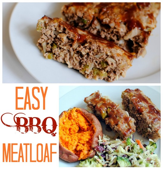 delicious and easy BBQ meatloaf is perfect for a quick and simple ...