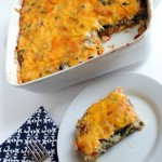Kale and Turkey Sausage Breakfast Casserole Recipe