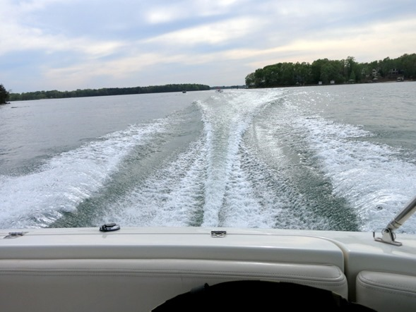 boating on lake norman
