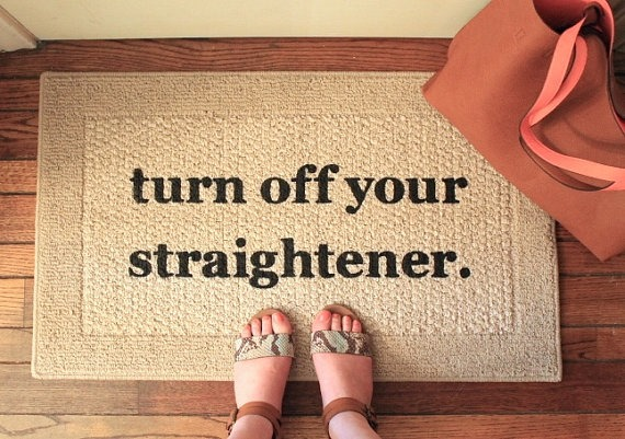 turn off your straightener