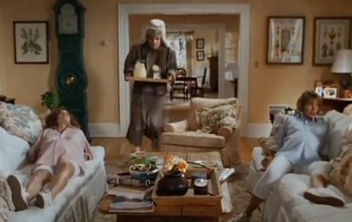 Annie and Nina Overheated Pregnant