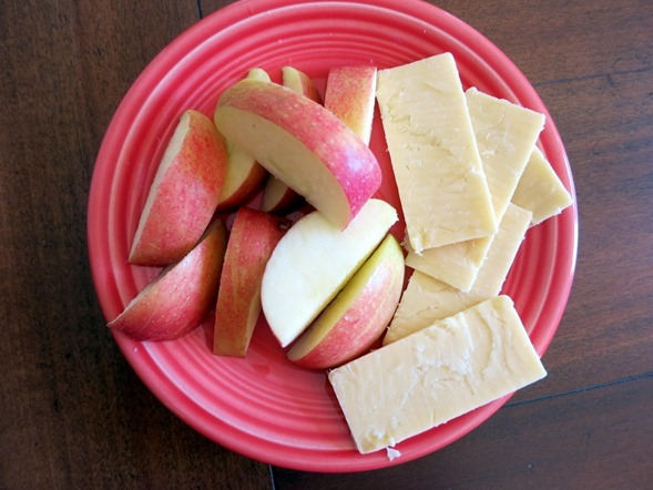 Apples with Cheese