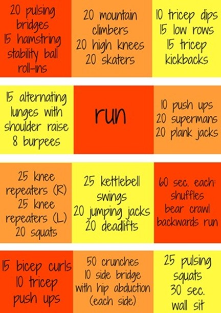 Boot Camp Workout with Three Minute Stations