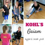 Kohl's Gaiam Yoga Apparel