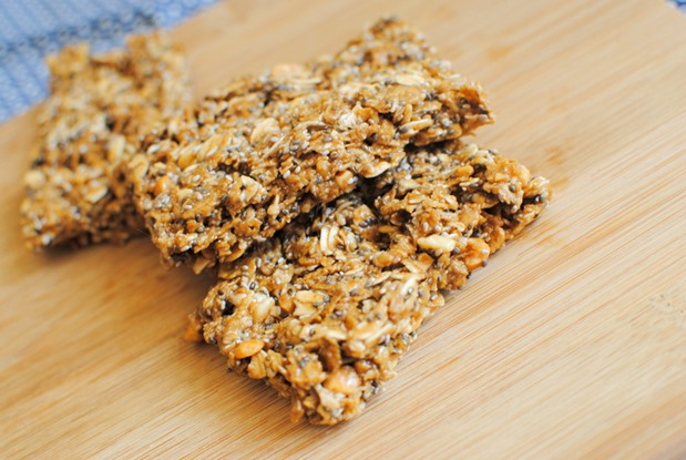 No Bake Peanut Butter Bars Recipe