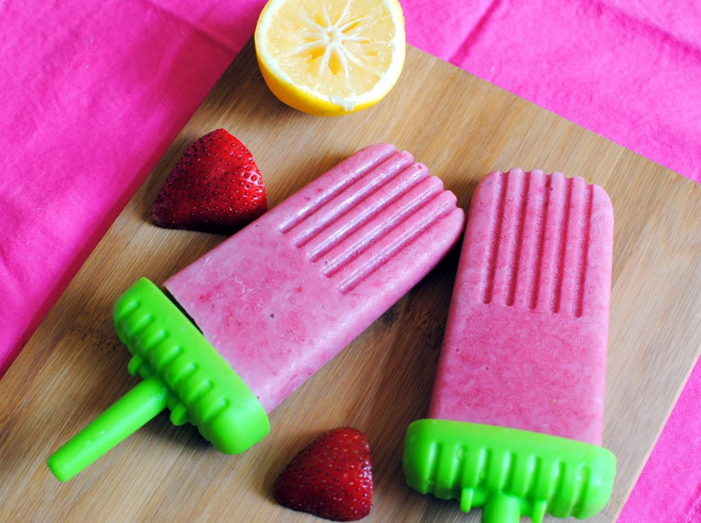 These pretty pink popsicles are coming your way today thanks to a ...