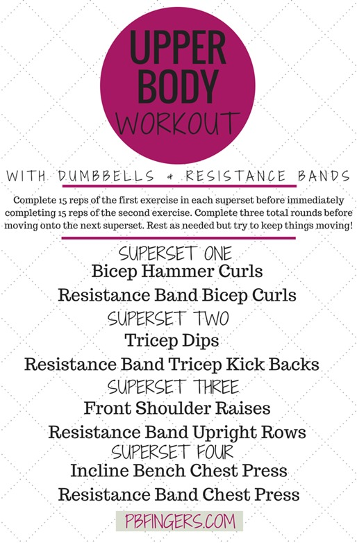 Upper Body Sut Workout