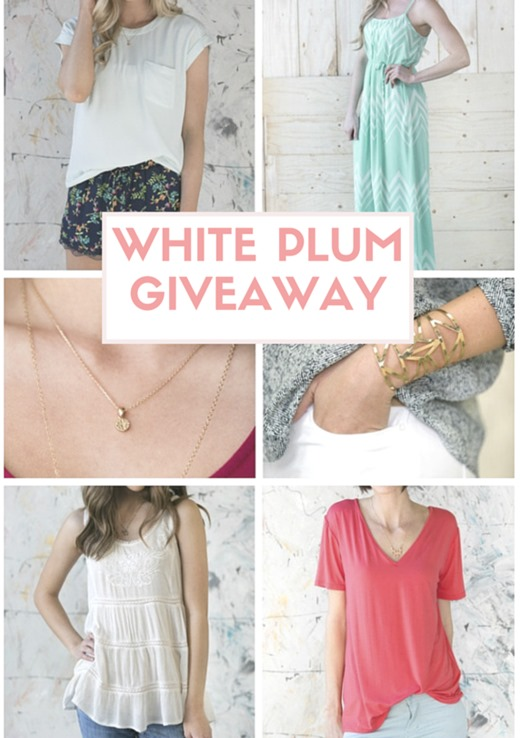 White Plum Giveaway and Coupon Code