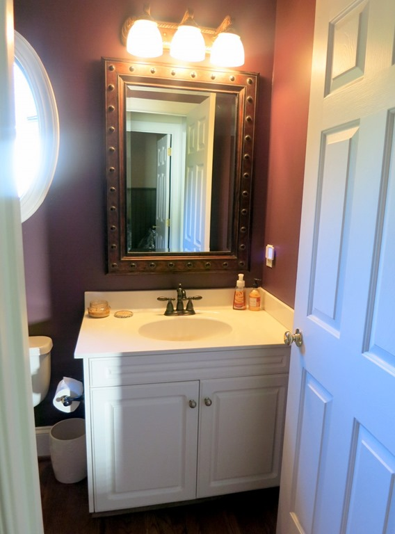 Dark purple bathroom amazing furniture inspiring small bathroom vanity units from pressure Purple and black bathroom ideas