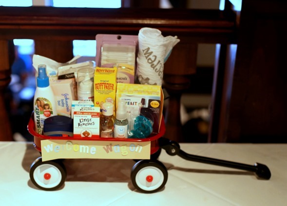 Baby Shower Welcome Wagon Baby Gift