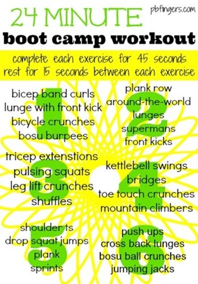 Boot Circuit Camp Workout