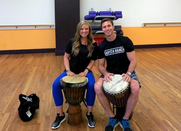 Canyon Ranch Drumming