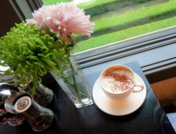 Canyon Ranch almond milk latte