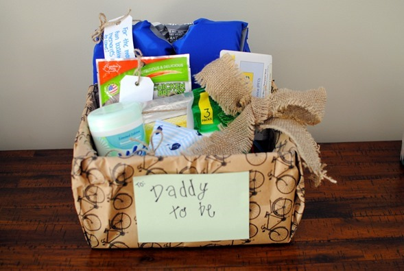 Dad To Be Gift Basket for Baby Shower