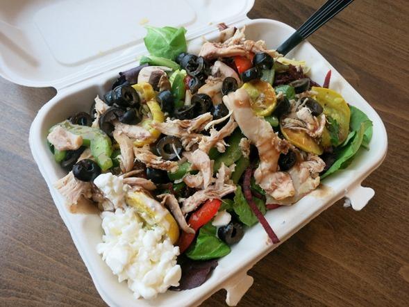 Earth Fare Salad Bar