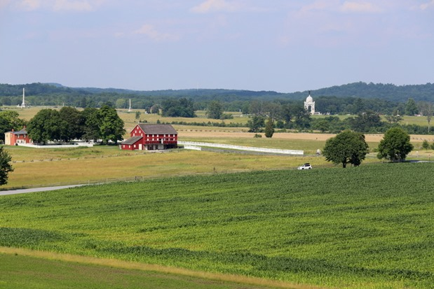 Gettysburg PA landscape