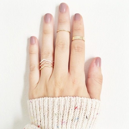 Lauren Conrad Midi Rings