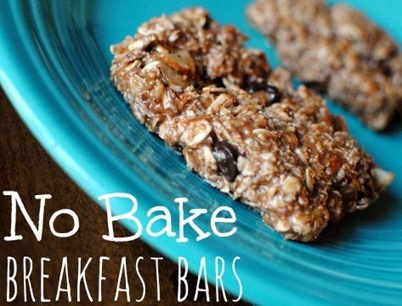 No Bake Protein Breakfast Bars