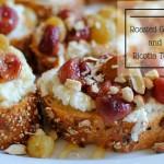 Roasted Grape and Ricotta Toast
