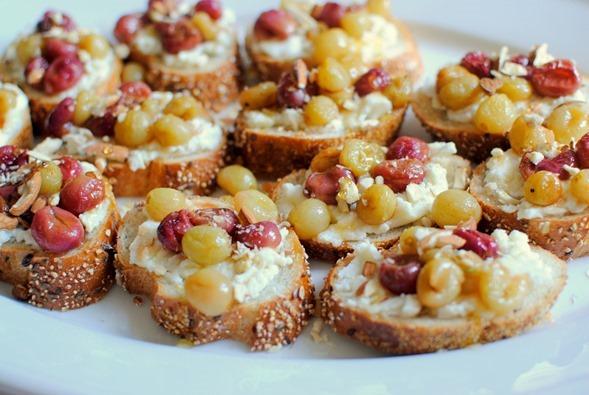 Roasted Grapes and Ricotta Toast Recipe