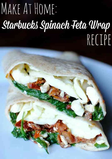 Starbucks Spinach Feta Wrap Recipe