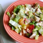 Simple Summer Chopped Salad