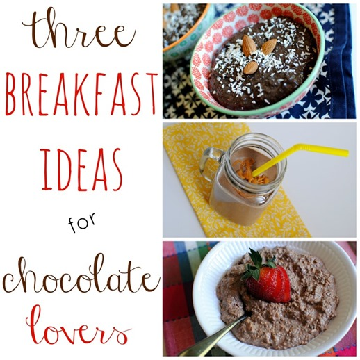 breakfast ideas for chocolate lovers
