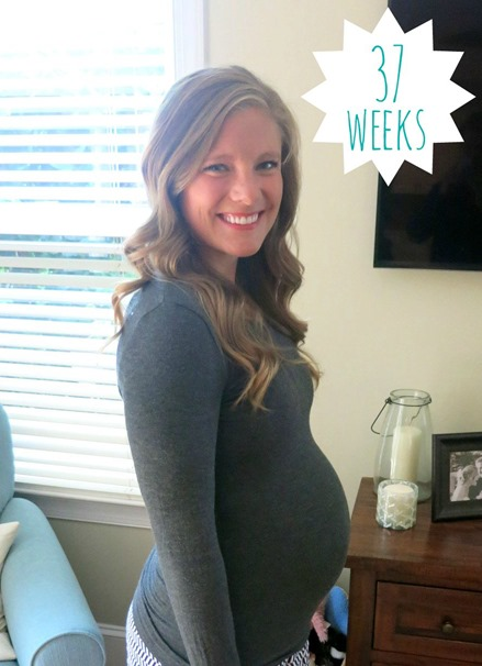 37 weeks pregnant