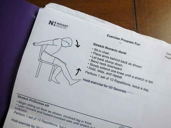 Sacroiliac Pain Stretches