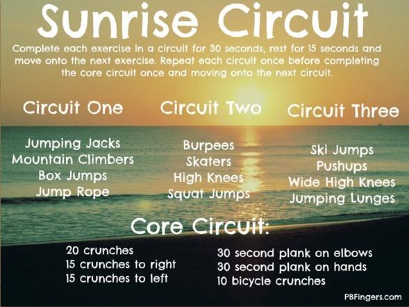 Sunrise Circuit Workout