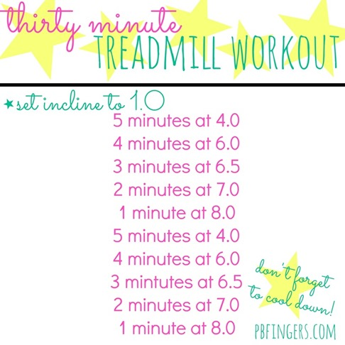 30 Min Treadmill Workout