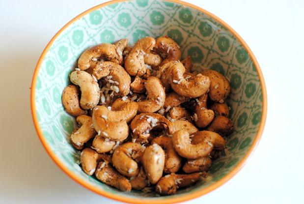 Coconut Cinnamon Cashews Recipe