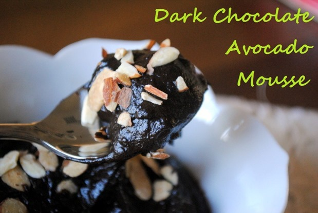 Dark Chocolate Avocado Mousse