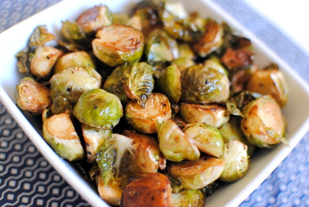 Easy Roasted Balsamic Brussels Sprouts Recipe