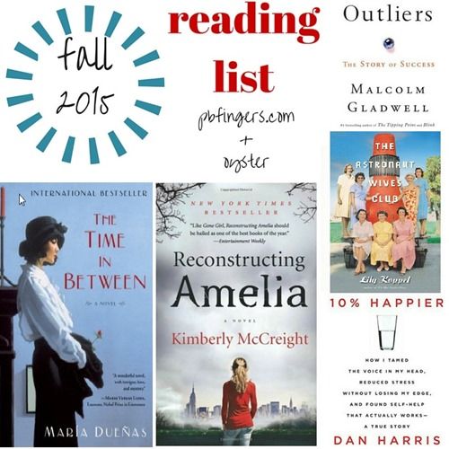 Fall 2015 Reading List