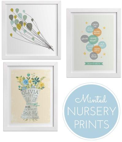 Minted Nursery Prints