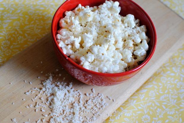 Coconut Butter Popcorn