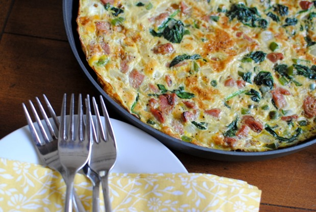 Easy Sausage and Chicken Frittata (Paleo and Whole30)