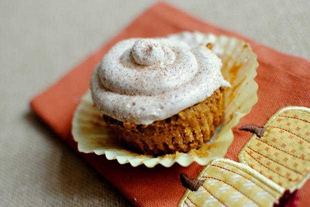 Pumpkin Spice Cake Mix Cupcakes (with Cinnamon Buttercream ...