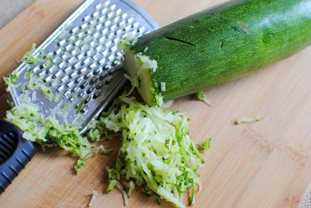grated zucchini
