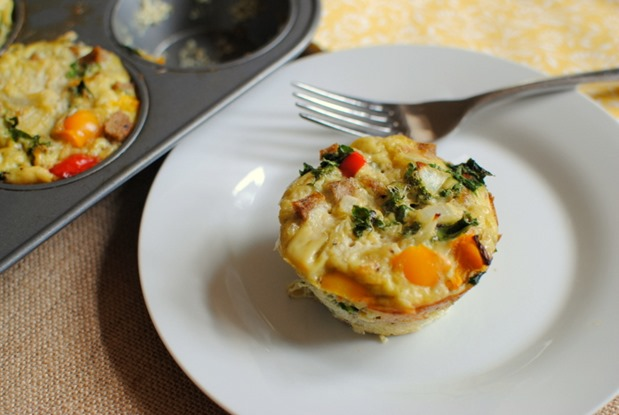 Easy Customizable Paleo Egg Muffins