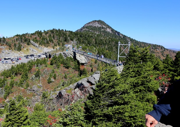 Grandfather Mountain bridge