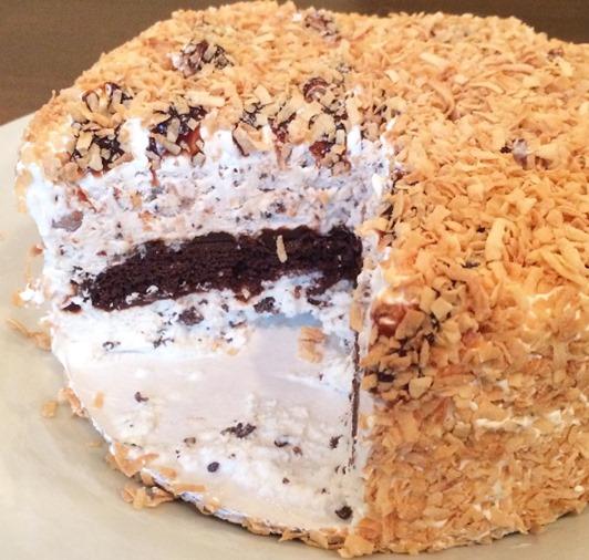 Kilwin's Toasted Coconut Ice Cream Cake