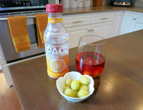 Ocean Spray PACt with Frozen Grapes